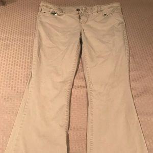 Super Cute Khaki Pants Size 10